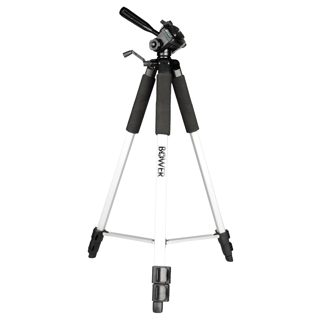 Bower VTSL1200 59 Full Size Tripod For Nikon D5100 D5000
