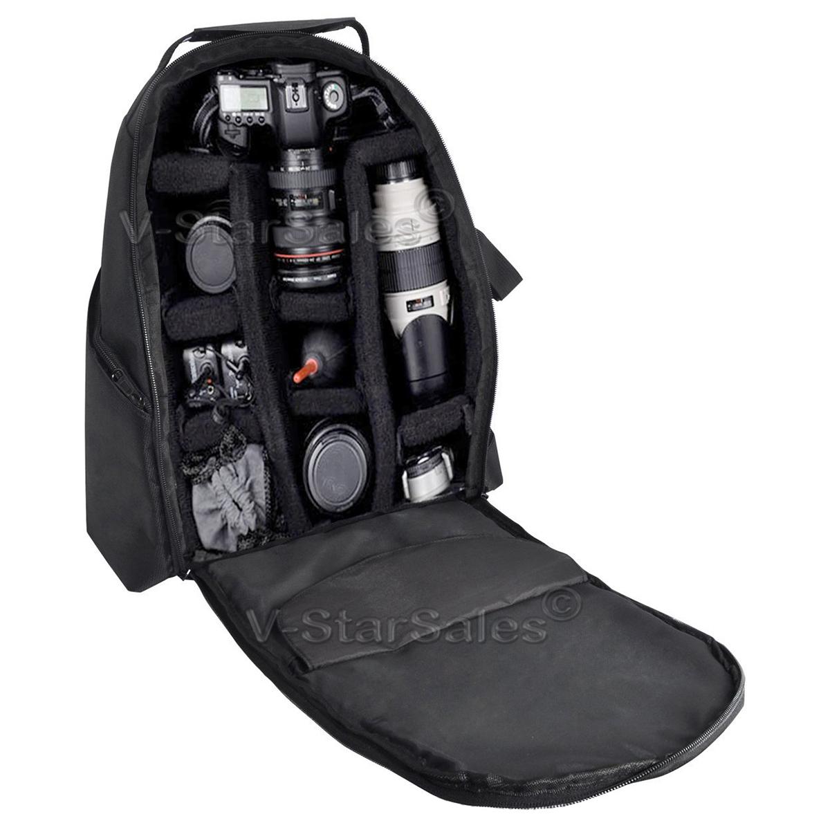 XIT XTBP Deluxe Backpack for Nikon D3100 D3200 D5100 D5200 D7000 D7100